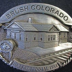 Other - silver belt buckle